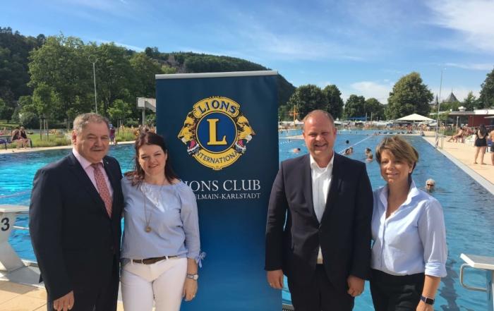 Benefizschwimmen des Lions Club